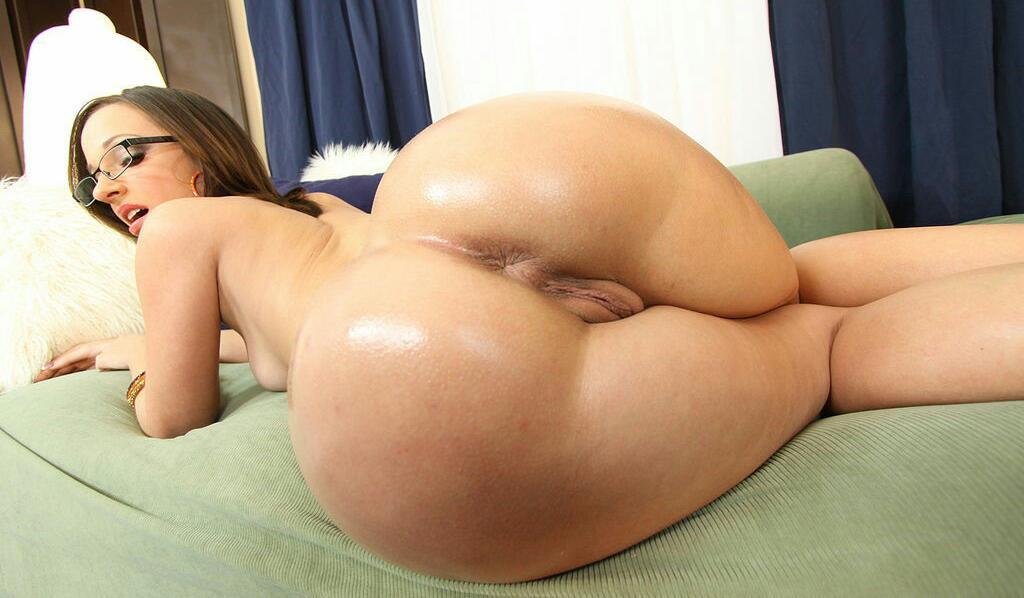 Ebony anal cream pie